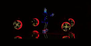 Light Balance Dancers Light Up The Stage