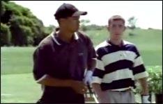 Golfen wie Tiger Woods, golf spielen