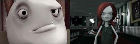 vamps, vampire, flash movie, animation