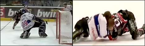 eishockey, Eishockey-Liga