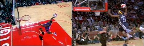 nba, slam-dunk contest 2006, basketball