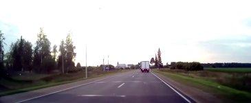 LKW Unfall Fahrradfahrer Glück