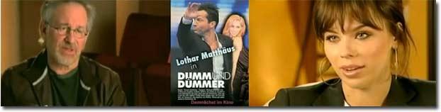 Lothar Matthäus, Kino, Dumm und Dümmer, X3, Extra 3