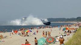 Russland, Luftkissenlandungsboot