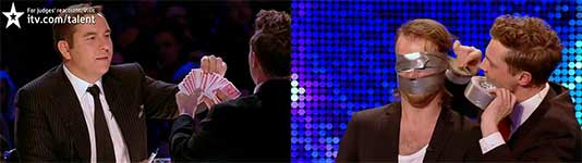 Sexy magicians Brynolf and Ljung - Britain's Got Talent 2012