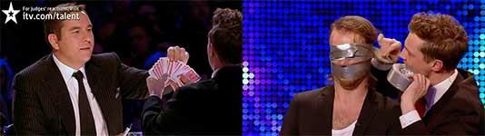 Sexy magicians Brynolf and Ljung - Britain's Got Talent 2012