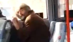Drogen, Mann, Bus