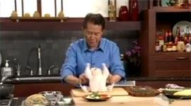 Martin Yan, Huhn entspannen, zerlegen