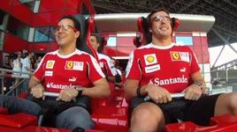 Achterbahn, Angst, Ferrari