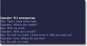 Mathe, Telefon, Polizei, 110