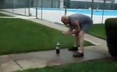 Mentos, Coke Rocket Fail