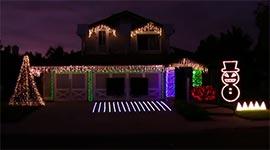 Metal, Weihnachtsbeleuchtung