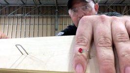 Zimmermann Klammer Finger Prank