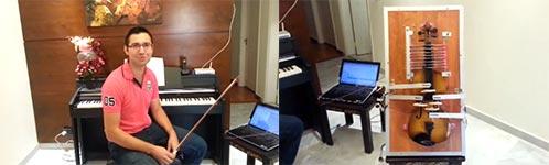 Vivaldi auf der Geige
