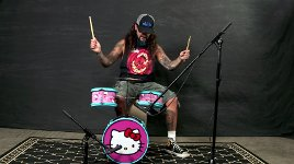 Mike Portnoy Hello Kitty Drum Kit