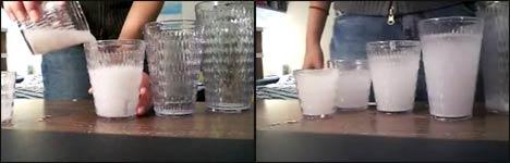 milch glas trick videos. Black Bedroom Furniture Sets. Home Design Ideas