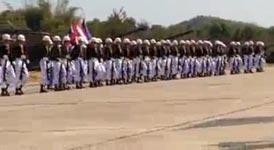 Militärparade in Thailand
