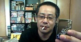 Minecraft Spieler Feuer Webcam