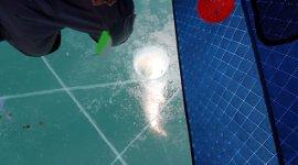 Eisfischen Angel angeln