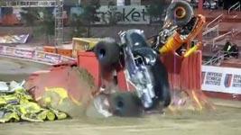 Monster Truck Double Backflip