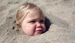 mehr Sand, Strand, Baby