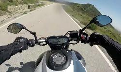 Heftiger Motorradunfall