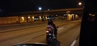 Motorrad, String, Unterwäsche