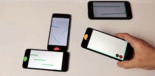 Digitale Murmelbahn Handy