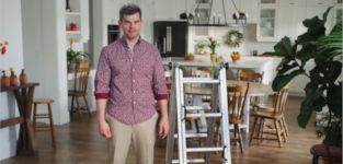 Murphy Ladder Leiter Werbespot