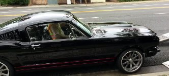 Mustang Traumauto aufladen fail