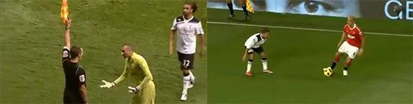 nani, Manchester United vs Tottenham Hotspur