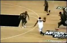 dunking, basketball, korb, spielen