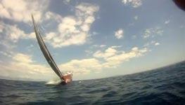 Segel-Manöver, Near Miss Race Yacht