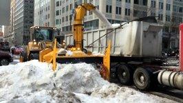 Schneefresser USA Maschine