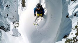 GoPro Line Winter Nicolas Falquet Switzerland