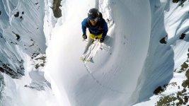 GoPro Line Winter Nicolas Falquet Switzerland