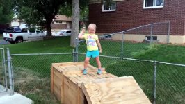 Mini Ninja Warrior Parkour