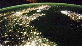 Nordkorea, Nacht