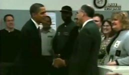 obama, hände schütteln, handshake
