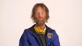 Verwandlung eines Obdachlosen