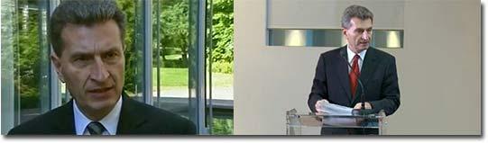 Englisch, Oettinger, Öttinger