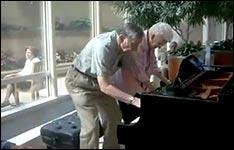 old piano duett