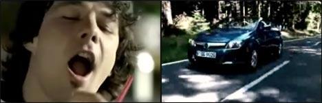 Opel Tigra, Werbung