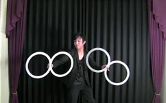 ouka ringarts, Contact juggling with rings