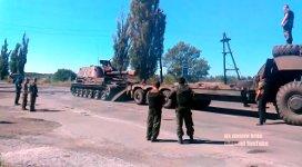 Panzer verladen