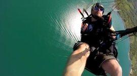 Fallschirm Unfall Notschirm