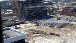 Parkhaus Abriss Houston