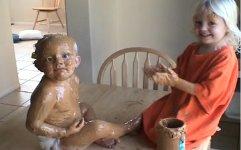 Erdnussbutterbaby Peanut butter baby
