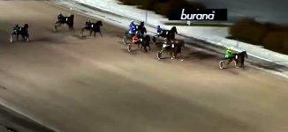 Pferde Trabrennen Unfall