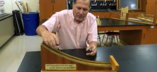 Kugelbahn Wissenschaft Physik